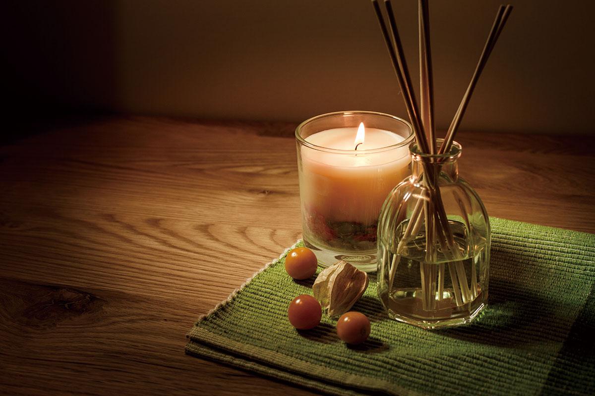 Relax & Happy やさしい香りでリラックス
