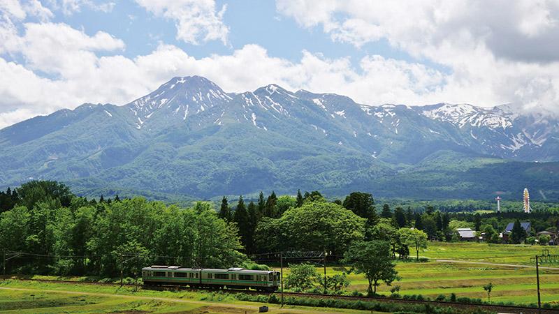 Natural rich land, Myoko